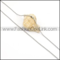 Chic Silver Small Chain  n000127