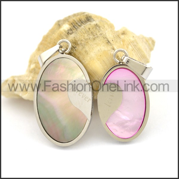 Graceful Stainless Steel Couple  Pendant   p002380