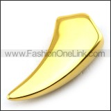 Delicate Stainless Steel Plating Pendant   p003397