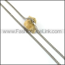 Silver Plated Necklace n001052