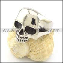 Stainless Steel Wicked Skull Ring r001209