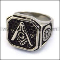 Exquisite Stainless Steel Casting Ring  r003616