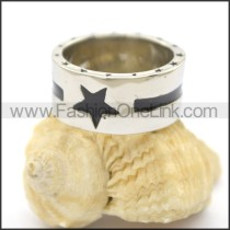 Delicate Casting Stainless Steel Ring   r002400