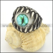 Prong Setting Eye Ring r001426
