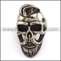 Stainless Steel Skull Ring  r003694