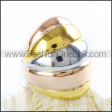 Stainless Steel Fashion Ring r000036