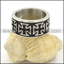 Exquisite Stainless Steel Ring r001495