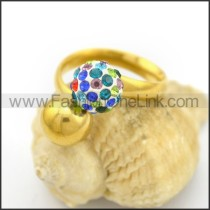 Graceful Popular Stainless Steel Ring    r002652
