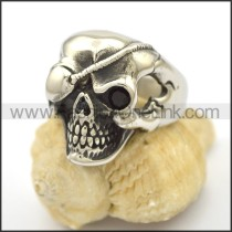 Unique Stainless Steel Skull Ring  r002796