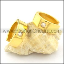 Exquisite Stainless Steel Plating Earrings    e000339