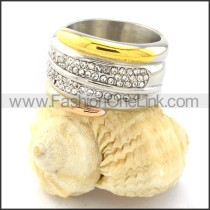 Stainless Steel Comfort Fit Ring r000768