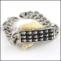 Delicate Skull Bracelet b000258