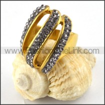 Stainless Steel Vintage Ring r000229