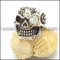 Stainless Steel Skull Ring  r002586