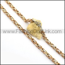 Delicate Plated Necklace n000736