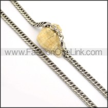 Chic Stamping Necklace n000673