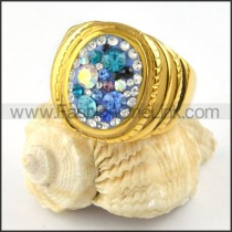 Stainless Steel Round Shape Ring r000224