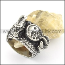 Exquisiter Stainless Steel Ring 001479