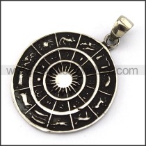 Exquisite Stainless Steel Casting Pendant   p003991