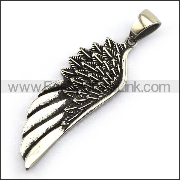 Exquisite Stainless Steel Casting Pendant   p004038