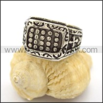 Vintage Stainless Steel Casting Ring  r001889