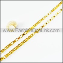Delicate Golden Plated Necklace    n000125