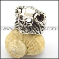 Delicate Skull Ring r001915
