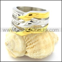 Stainless Steel Fashion Ring r000781
