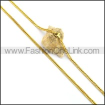 Exquisite Gold Plated Necklace n001044