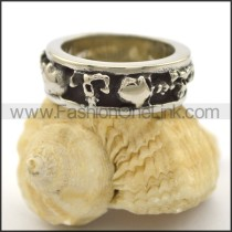 Exquisite Stainless Steel Ring r002109