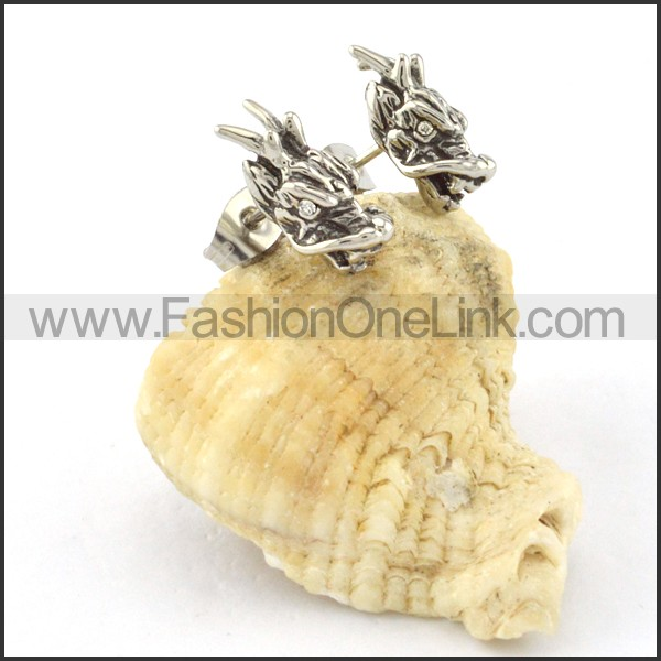 Lovely Stainless Steel Animal Earrings    e000425