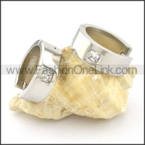 Exquisite Stainless Steel Plating Earrings    e000338