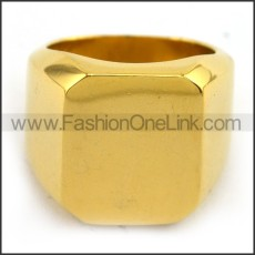 Stainless Steel Plating Ring  r003702