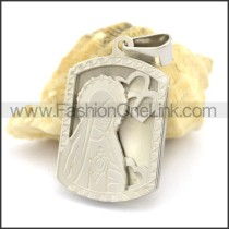 Delicate Stainless Steel Casting Pendant   p002390