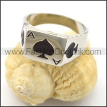 Ace of Heart Ring r001927