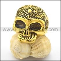 Stainless Steel Skull Ring  r002093