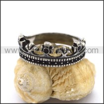 Exquisite Stainless Steel Casting Ring  r003301