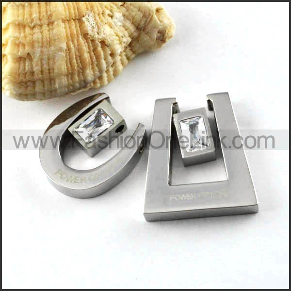 Exquisite Stainless Steel Couple Pendants p000081