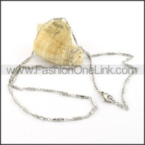 Graceful Silver  Small Chain     n000375