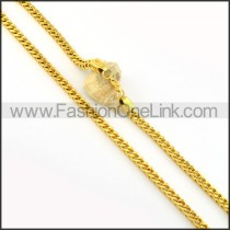 Golden Plated Necklace           n000223