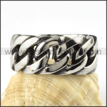 Stainless Steel Tyre Design Ring  r000088