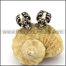 Wicked Skull Earrings    e001171