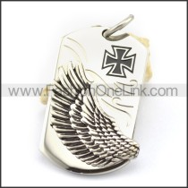 Delicate Stainless Steel Casting Pendant   p001766