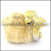 Stainless Steel Classic Ring r000771