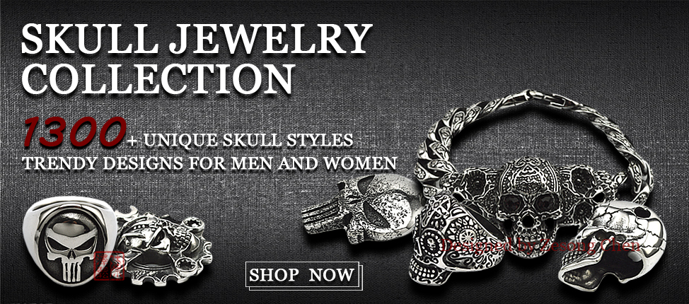 2019 Skull Jewelry with Cheap Factory Direct Price
