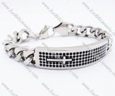 Stainless Steel Cross Bracelet -JB130171