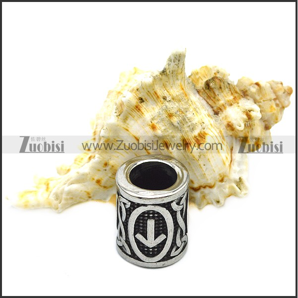 Norse Rune Beads for Viking's Hair Braids a000876