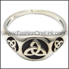 sterling silver viking ring for ladies r006083