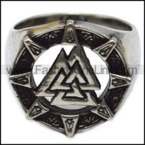 stainless steel viking ring r005957