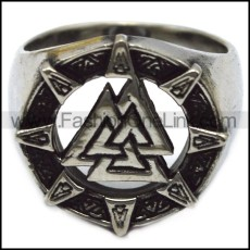 stainless steel viking ring r005957